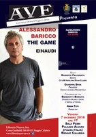 Appuntamento con la cultura: presentazione del nuovo libro di Alessandro Baricco