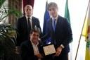 Firma del protocollo d'intesa con il Comitato Italiano Paralimpico