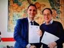 Firmato il protocollo d'intesa con la Deputazione di storia patria per la Calabria
