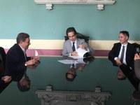 Firmato il Protocollo tra la Città Metropolitana e la Fondazione Marino