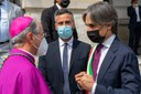 Il benvenuto della città al nuovo Arcivescovo, Monsignor Morrone