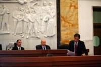 Il Consigliere delegato Castorina interviene sulle variazioni al  Bilancio 2018