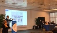 il delegato Castorina al congresso del Consiglio nazionale dei giovani