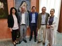 I Docenti della Rhode Island University in visita a Palazzo Alvaro