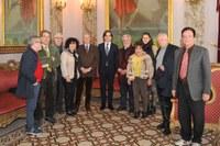Il Sindaco della Città Metropolitana Giuseppe Falcomatà riceve il Circolo Culturale Rhegium Julii