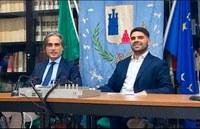 """Il sindaco Falcomatà a Palizzi: """"Torna finalmente la democrazia, in bocca al lupo al sindaco Nocera"""""""