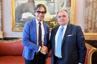 Il sindaco Falcomatà ha incontrato il neopresidente di Confindustria Reggio Calabria, Vecchio