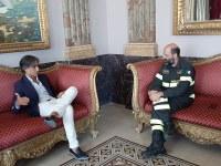 Il Sindaco incontra il nuovo Comandante provinciale dei Vigili del Fuoco