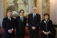 Incontro con l'ambasciatore tunisino Moez Sinaoui
