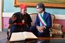 Incontro istituzionale tra il Cardinal Simoni e il sindaco Falcomatà