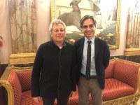 Palazzo Alvaro accoglie lo scrittore Alessandro Baricco