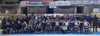 Premiazione per Reggio Calabria Basket in Carrozzina