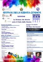 """Reggio Calabria celebra il Festival della Scienza """"Cosmos"""""""