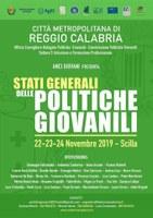 Stati Generali delle Politiche Giovanili 22-24 Novembre